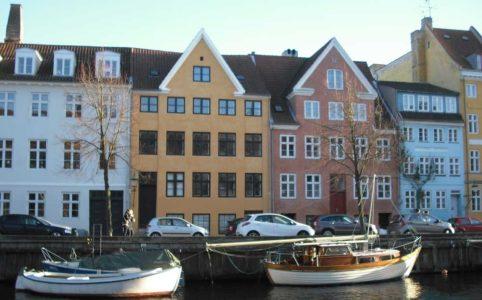 Jernstøber Thomas Potters første hus i Overgaden oven Vandet